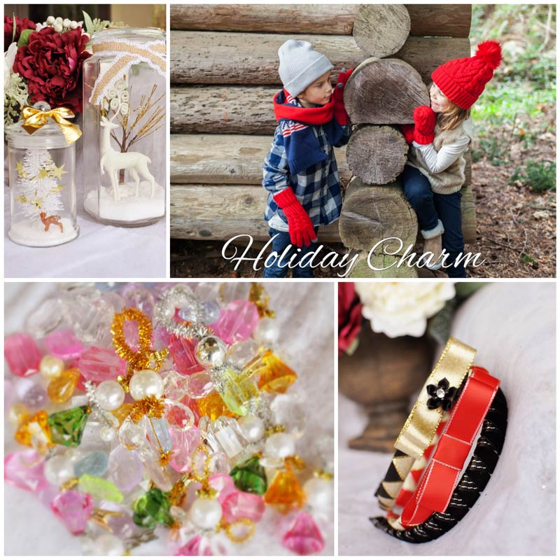 Holiday Charm - headbands and holiday accessories