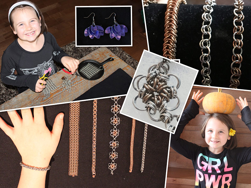 Rosie Designs - chainmail jewellery
